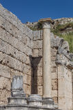 Ancient Column Royalty Free Stock Photos