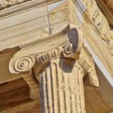 Ancient column detail Stock Photos