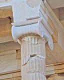 Ancient column detail Royalty Free Stock Photo
