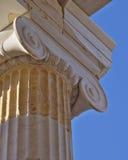 Ancient column detail Royalty Free Stock Image