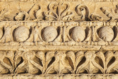Ancient column ornament Stock Photography