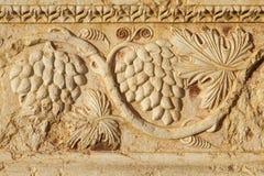 Ancient column ornament Royalty Free Stock Photo