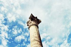 Ancient column Royalty Free Stock Images