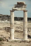 Ancient columns Royalty Free Stock Image