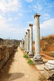 Ancient columns. Royalty Free Stock Photography