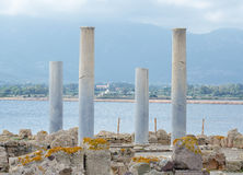 Ancient columns. Stock Photography