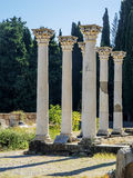 Ancient columns Royalty Free Stock Photography