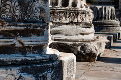 Ancient Columns Royalty Free Stock Photos