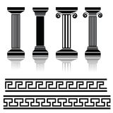 Ancient columns Stock Images