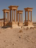 Ancient columns, Palmyra Stock Photo