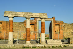 Ancient columns Stock Image