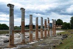 Ancient columns Stock Photos