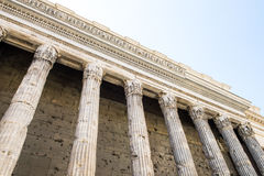 Ancient columns in Rome Royalty Free Stock Images