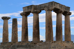 Ancient columns Royalty Free Stock Photo