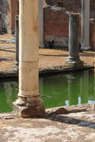 Ancient columns in Villa Adriana Royalty Free Stock Image
