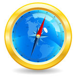 Ancient compass Royalty Free Stock Images