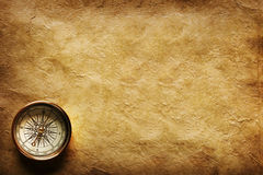 Ancient compass royalty free stock photography