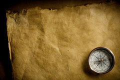 Ancient compass Royalty Free Stock Photo