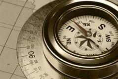 Ancient compass stock photos