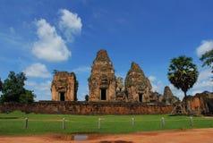 Ancient construction Angkor Stock Photo