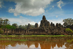 Ancient construction Angkor Royalty Free Stock Photo