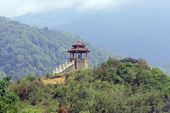 Ancient construction. Ancient structure in mountains of North Vietnam royalty free stock images