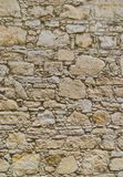Ancient coquina Stone wall texture or background Stock Photography