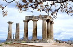 Ancient Corinth 1 Royalty Free Stock Photo
