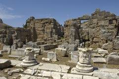 Ancient Corinth Royalty Free Stock Photography