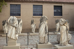 Ancient Corinth, statue in the museum Royalty Free Stock Photo