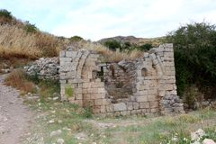 Ancient Corinth Royalty Free Stock Images