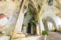 Ancient corridor in Palacio da Pena, Portugal Stock Photography