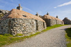 Ancient Cottages Stock Image