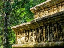 Ancient Council Chamber in Polonnaruwa, Sri Lanka Royalty Free Stock Photos