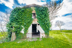 Ancient country ruined house Royalty Free Stock Image