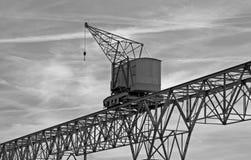 Ancient crane Stock Photo