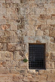 An ancient Crusader fortress Royalty Free Stock Photo