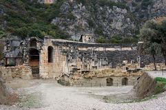 Ancient Cty Myra in Turkey. Stock Photography