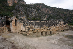 Ancient Cty Myra in Turkey. Stock Image