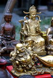 Ancient curio. Close up of ancient curio in China Royalty Free Stock Photo