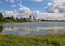 Ancient Cyril-Belozersky monastery, northern Russia Royalty Free Stock Photos