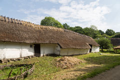 Ancient danish farmhouse Stock Images