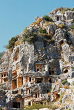Ancient dead town in Myra Demre Turkey Stock Photo