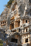 Ancient Dead Town In Myra Demre Turkey Stock Photos