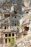 Ancient Dead Town In Myra Demre Turkey Royalty Free Stock Images