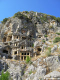 Ancient Dead Town In Myra Demre Turkey Royalty Free Stock Image