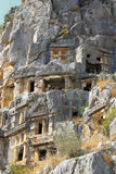 Ancient Dead Town In Myra Demre Turkey. An Ancient Dead Town In Myra Demre Turkey Royalty Free Stock Image
