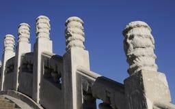 Ancient decoration on the pillar Stock Photo