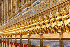 Ancient Decoration At Wat Prakaew Stock Image