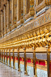 Ancient Decoration At Wat Prakaew Stock Images